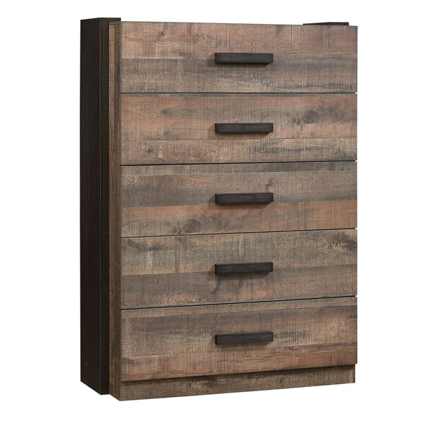 Dortch 5 Drawer Chest by Loon Peak