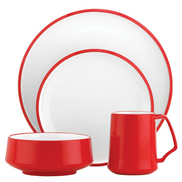 Kobenstyle 4 Piece Place Setting, Service for 1 by Dansk