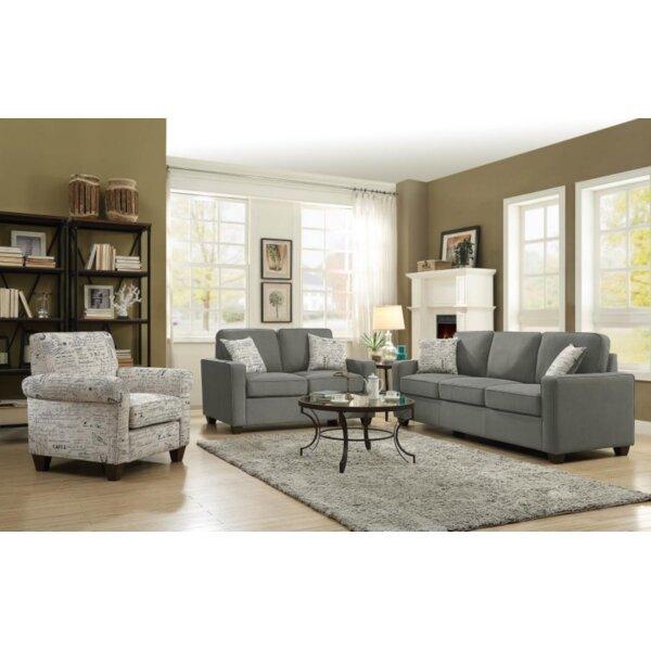 Moravian 2 Piece Living Room Set by Ebern Designs
