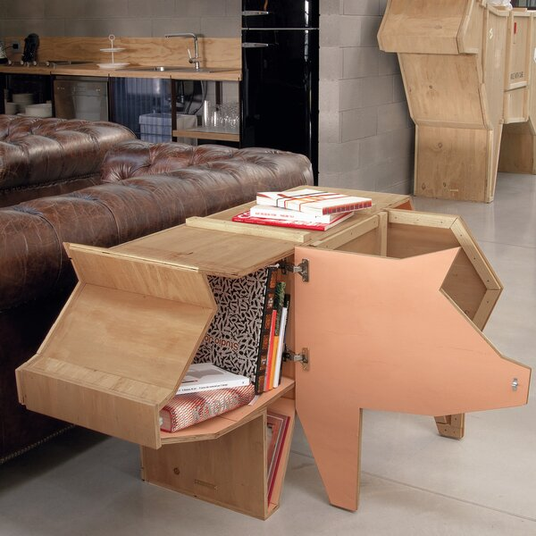 Sending Animals Pig Accent Cabinet by Seletti