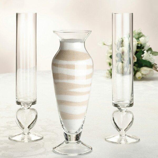 Unity 3 Piece Table Vase Set by Lillian Rose