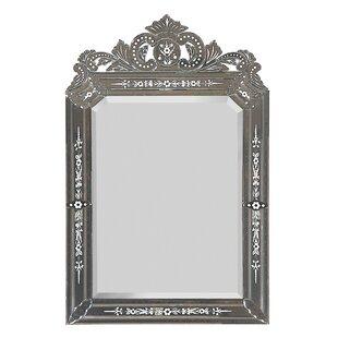 Rosdorf Park Vertical Framed Glass Wall Mirror