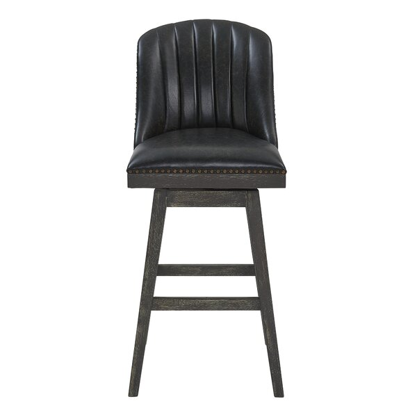 Arwood 27 Swivel Bar Stool by Foundry Select
