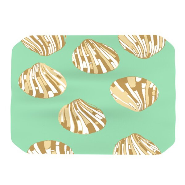 Scallop Shells Placemat by KESS InHouse