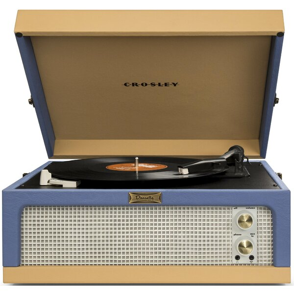 Dansette Junior Portable Record Player by Crosley Electronics