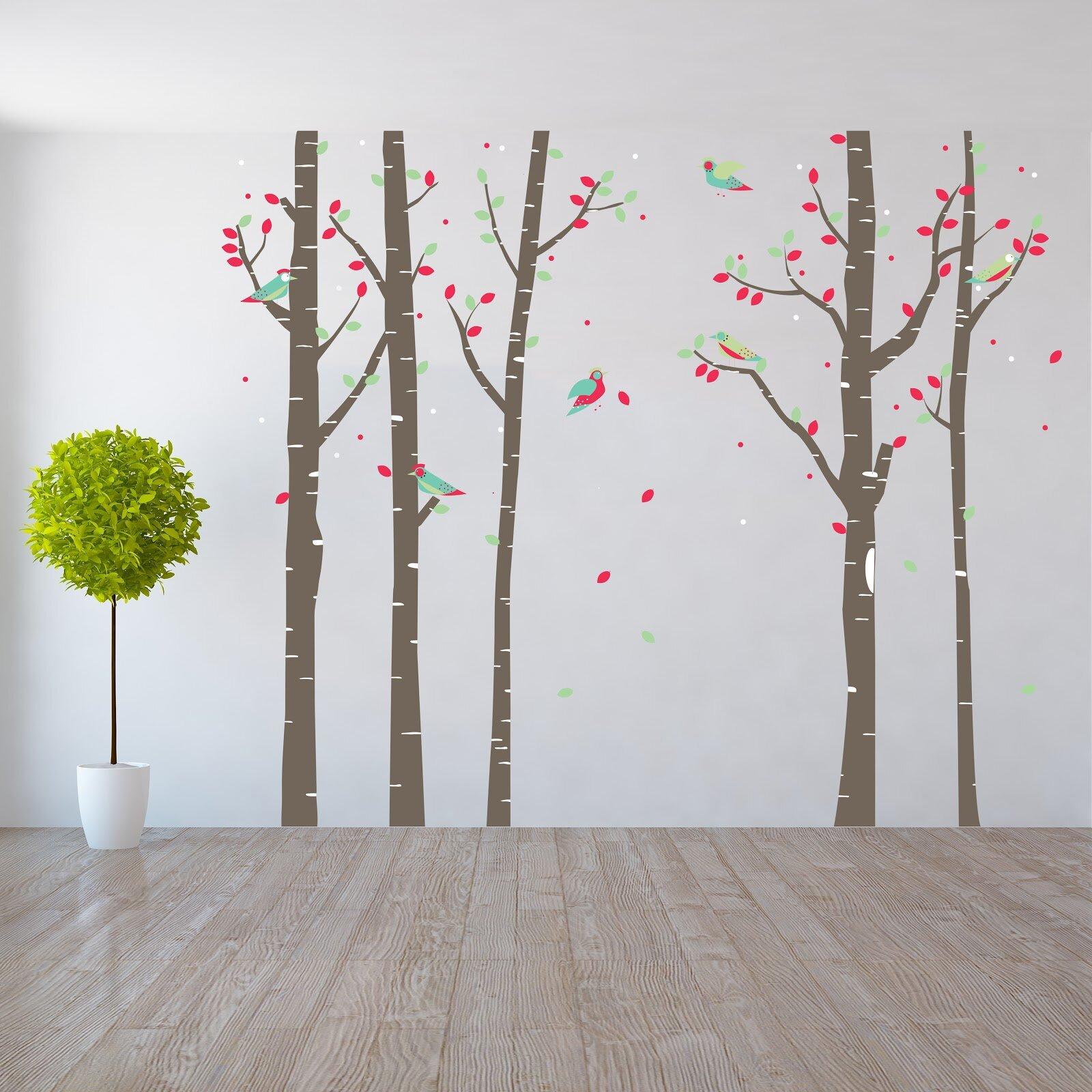 Superbe Harriet Bee Birchtree Forest Wall Decal U0026 Reviews   Wayfair