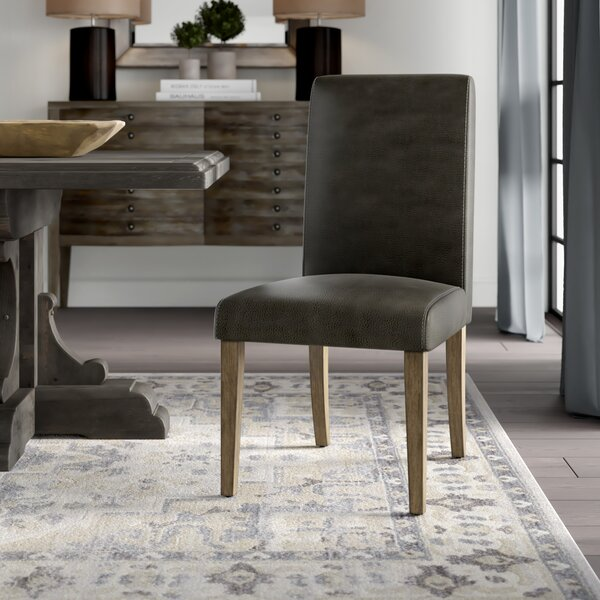 Greenville Lace Back Upholstered Dining Chair by Greyleigh