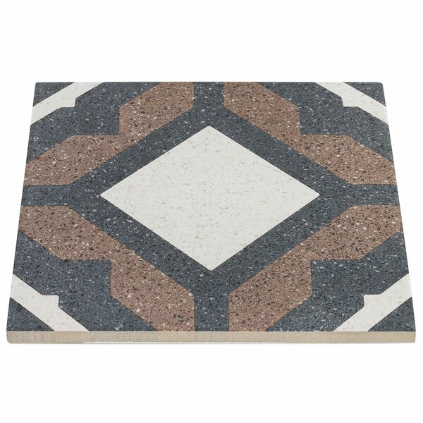 Branwell 9 x 9 Porcelain Field Tile in Nolde by Splashback Tile
