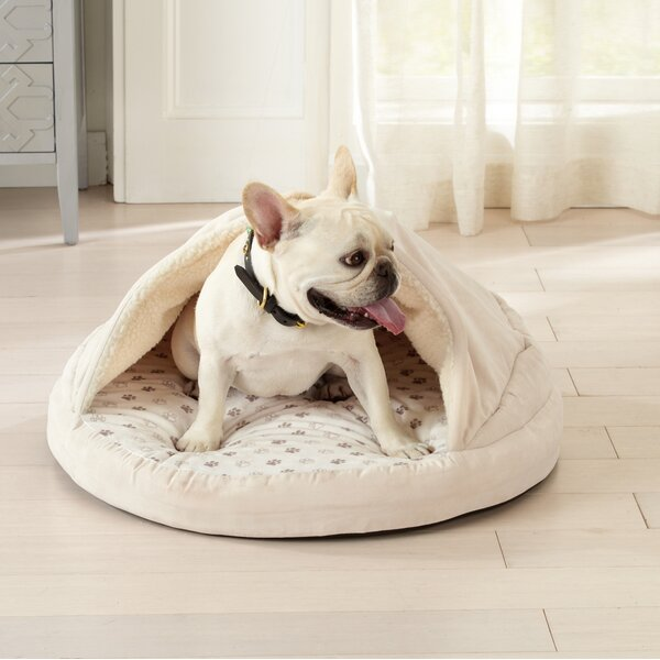 Juanita Cuddle Cave Dog Dome with Cover and Blanket by Tucker Murphy Pet