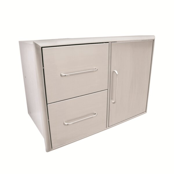 Double Drawer and Door Combo by Saber
