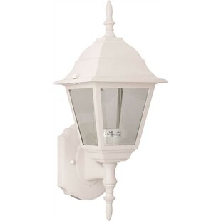 Comparison 1-Light Outdoor Wall Lantern By Monument