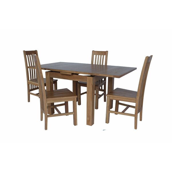 Pecora 5 Piece Extendable Dining Set by Loon Peak Loon Peak