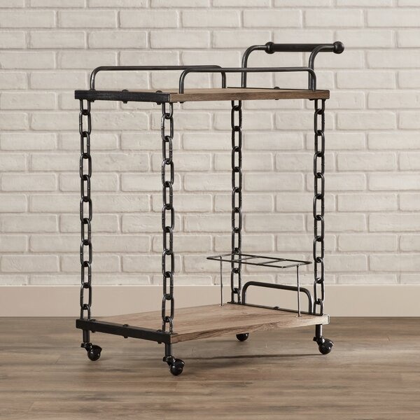 Chiron Bar Cart by 17 Stories