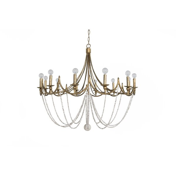 Sandra 12-Light Candle Style Empire Chandelier By Gabby