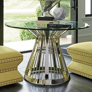 Ariana Riviera Glass Top Dining Table by Lexington