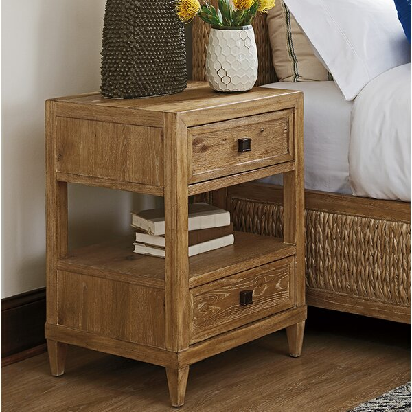 Los Altos 2 Drawer Nightstand by Tommy Bahama Home
