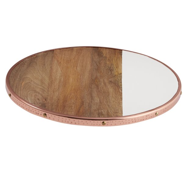 Bungalow Copper Edge Lazy Susan by Mud Pie™
