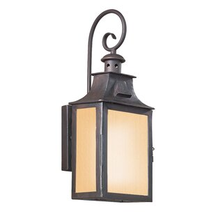 Trend Theodore 2-Light Outdoor Wall Lantern By Darby Home Co