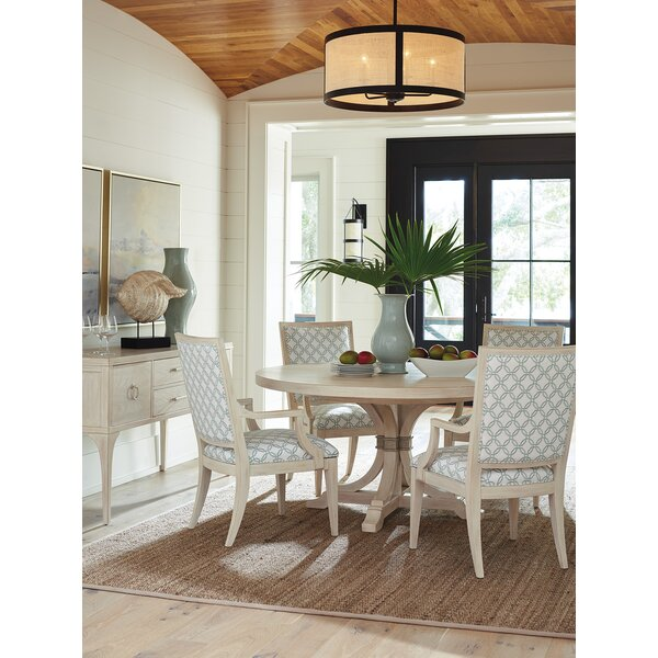 Newport 5 Piece Solid Wood Dining Set by Barclay Butera