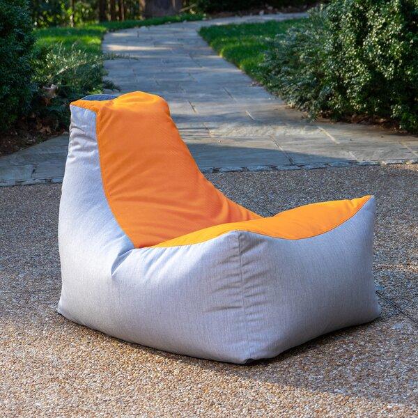 Juniper Standard Sunbrella Outdoor Friendly Bean Bag Chair By Ebern Designs