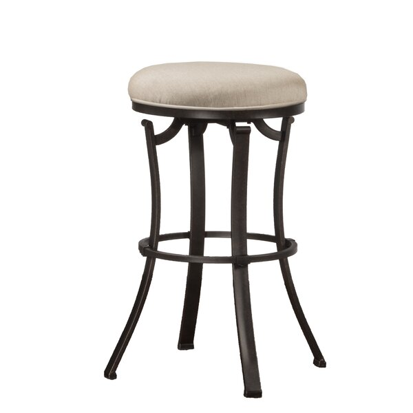 Hopeworth 26 Swivel Bar Stool by Red Barrel Studio
