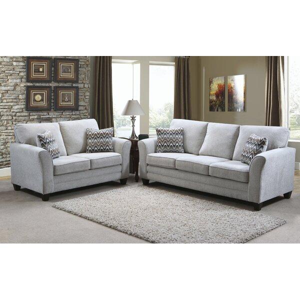 Nassauer 2 Piece Living Room Set by Winston Porter