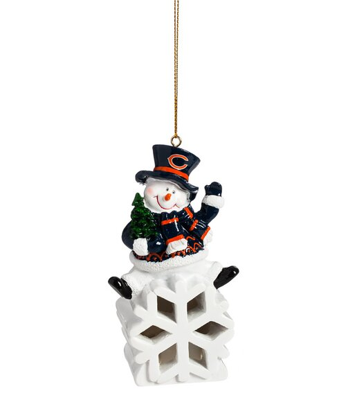 NFL Snowman LED Ornament by Evergreen Enterprises, Inc