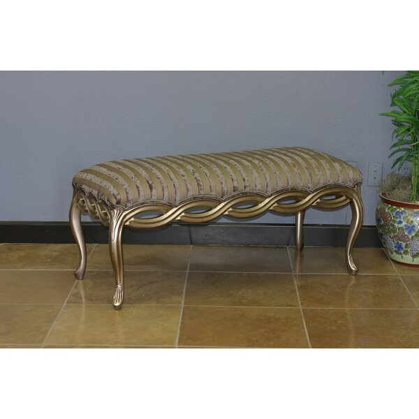 Lyons Upholstered Bench by Astoria Grand
