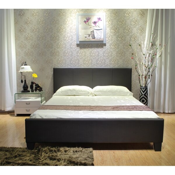 Upholstered Platform Bed by Greatime