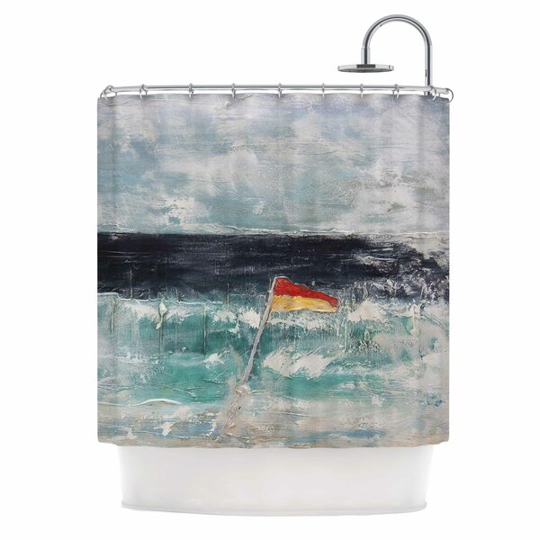 Great Pacific Pty Ltd by Steve Dix Shower Curtain by East Urban Home