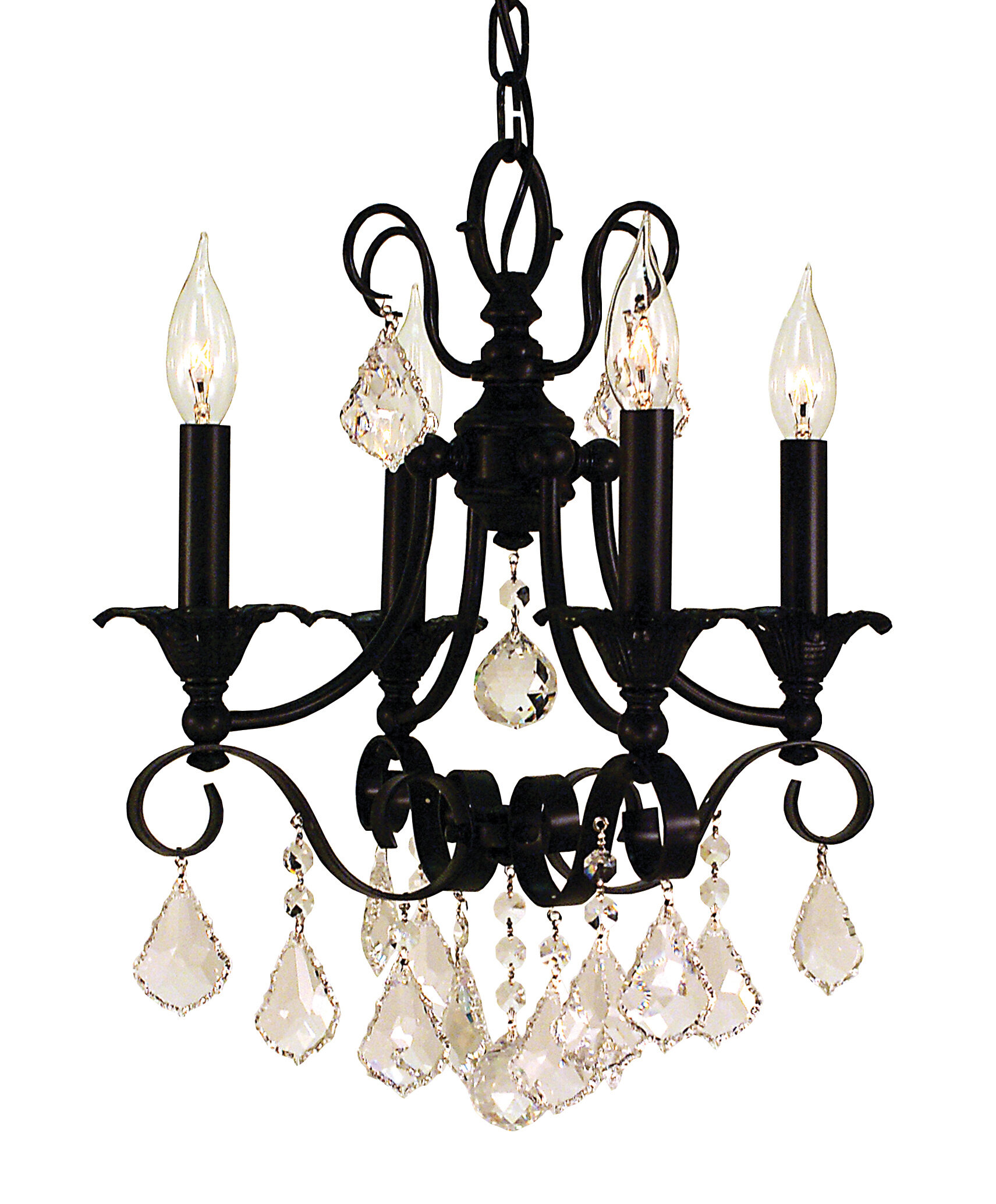 Astoria Grand Mallie 4 Light Candle Style Classic Traditional Chandelier Wayfair