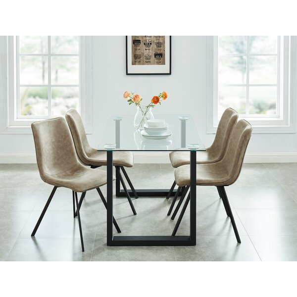 Dina Contemporary 5 Piece Dining Set by Wrought Studio
