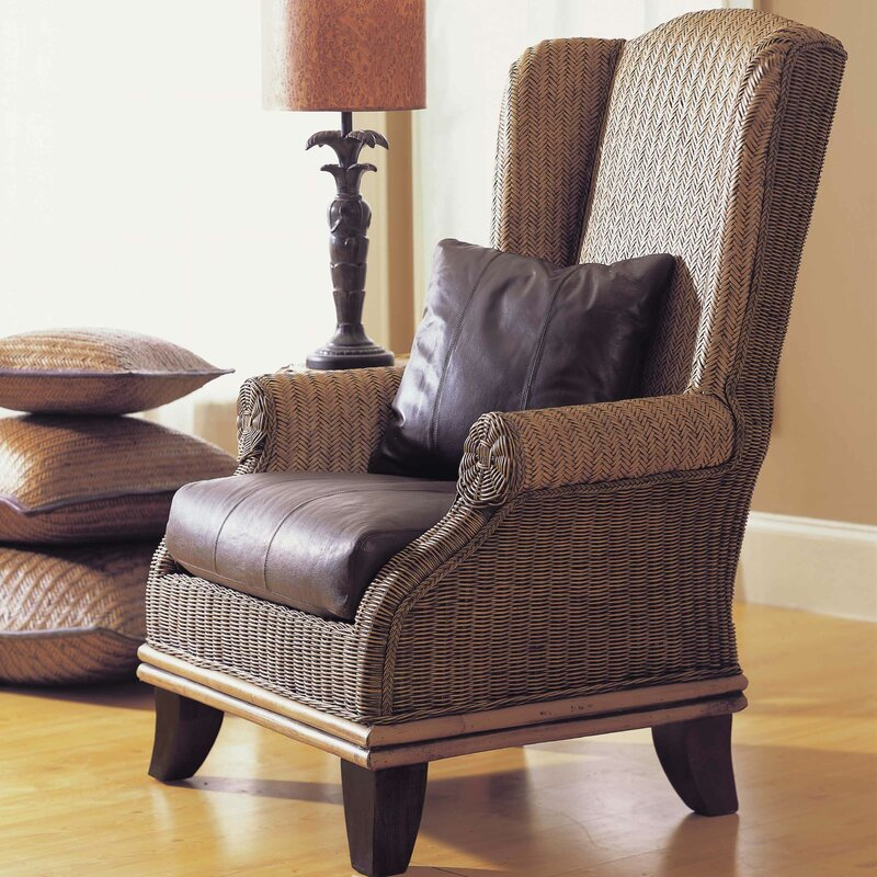 Padmas Plantation Bali Wing Back Chair Amp Reviews Wayfair