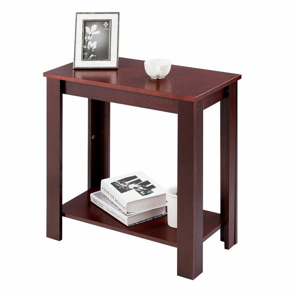 Phillippi Wooden End Table By Winston Porter