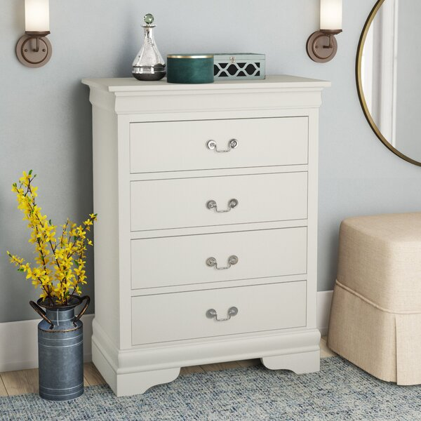 Babcock 4 Drawer Chest by Lark Manor