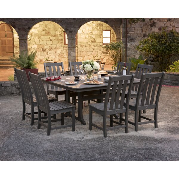 Vineyard 9 Piece Dining Set by POLYWOOD®