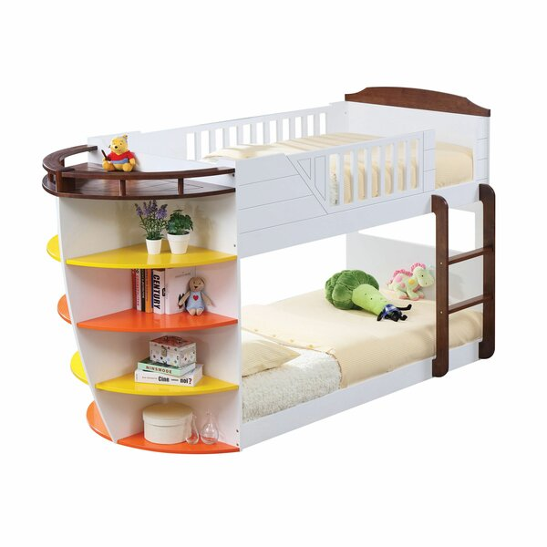 Ponte Twin over Twin Bunk Bed by Zoomie Kids