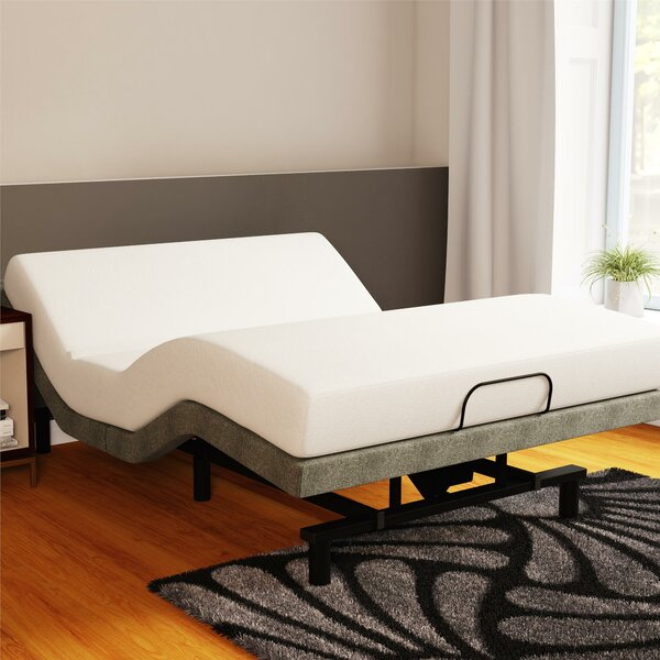 Power Adjustable Bed Base and Mattress by Alwyn Home