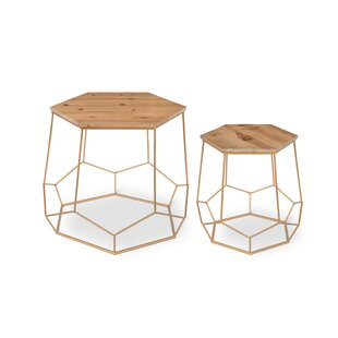 Burton Geometric 2-Piece Nesting Tables