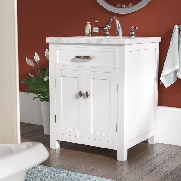 Latham 24 Single Bathroom Vanity Set by Andover Mills