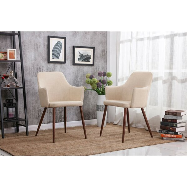 Burgoyne Upholstered Dining Chair (Set of 2) by George Oliver