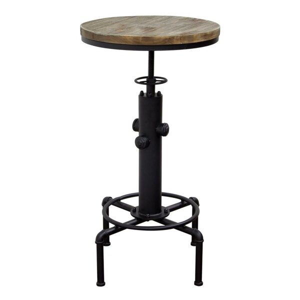 Tedder Wooden Adjustable Pub Table by Williston Forge