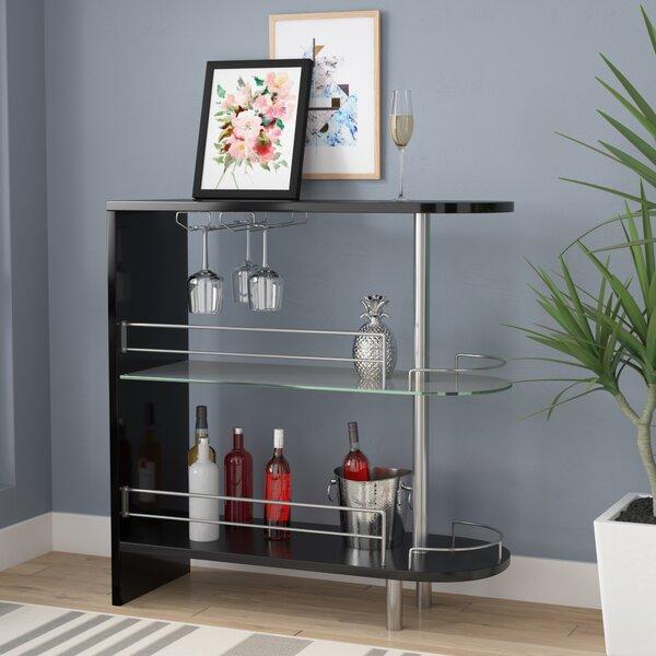 Mcconkey Bar with Wine Storage by Wrought Studio Wrought Studio