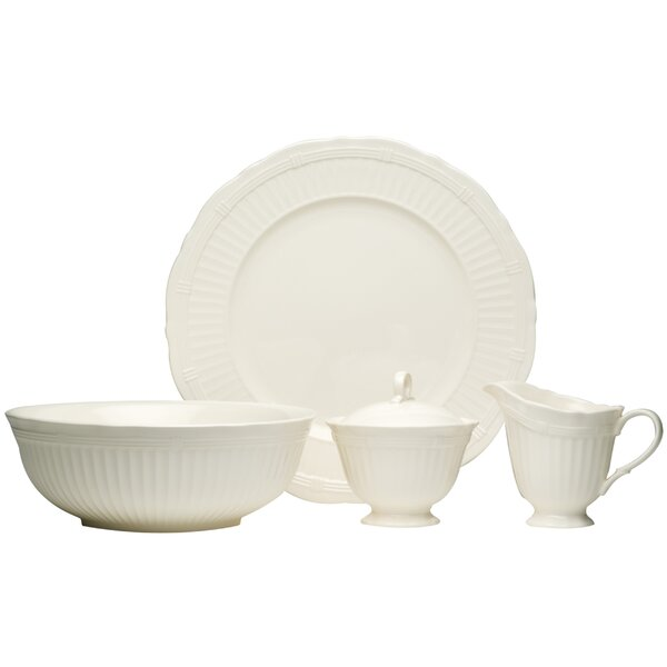 Tuscan Villa 4 Piece Place Setting, Service for 1 by Red Vanilla