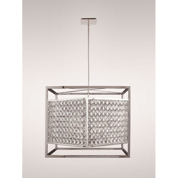 Honora 8-Light Unique / Statement Rectangle / Square Chandelier by Everly Quinn Everly Quinn