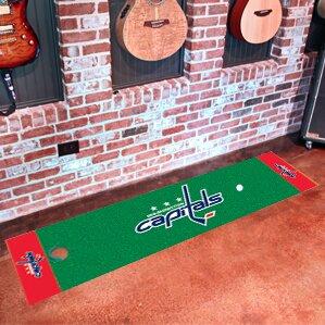 NHL - Washington Capitals Putting Green Doormat by FANMATS