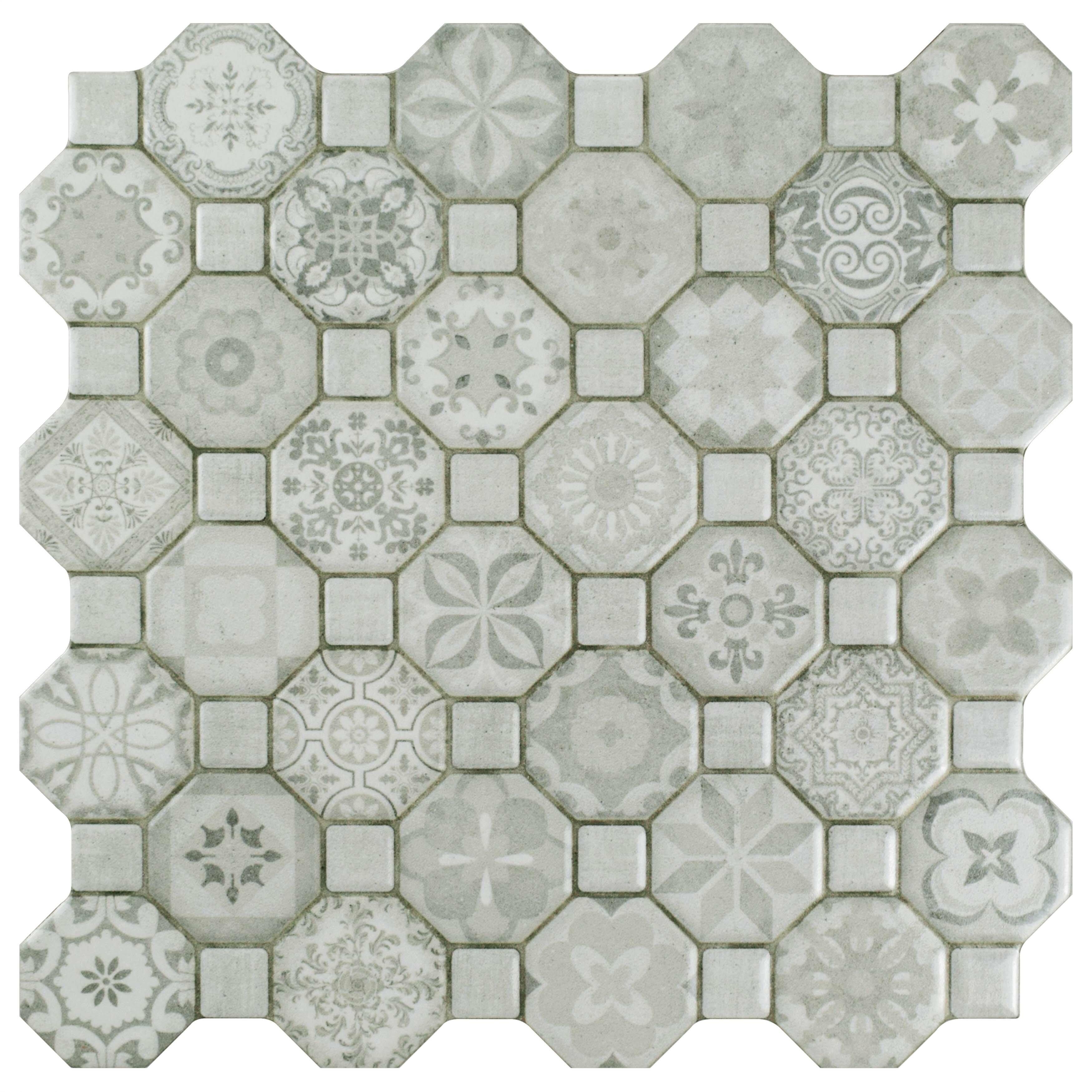 Elitetile Edredon 1225 X 1225 Ceramic Tile In Gray Reviews