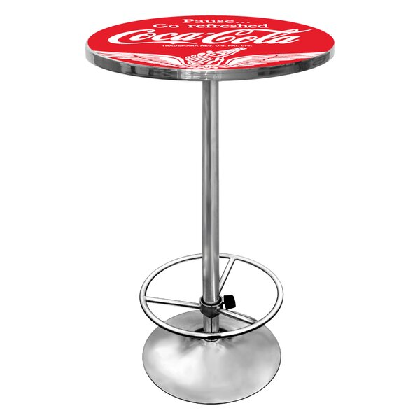 Coca Cola Pub Table III by Trademark Global
