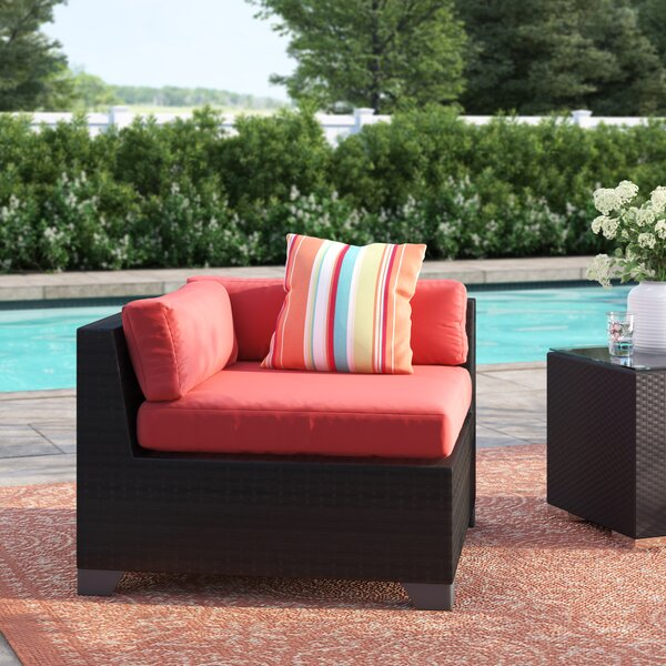 Fernando Patio Chair with Cushions by Sol 72 Outdoor
