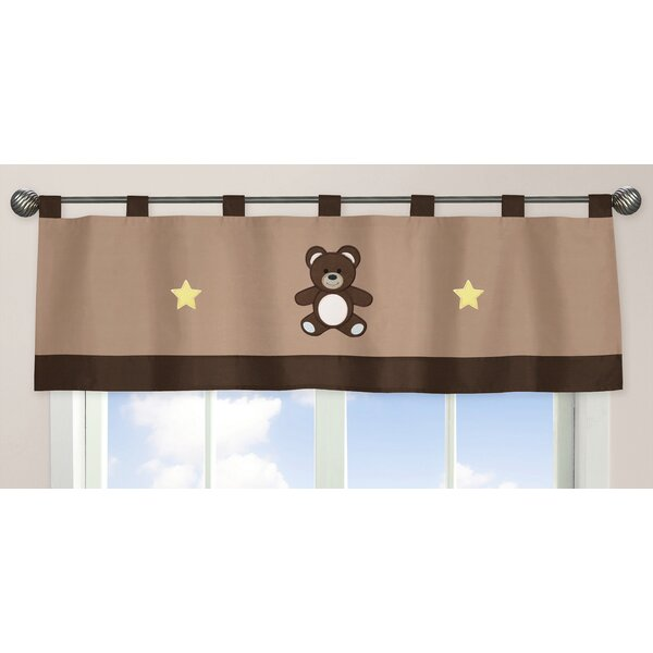 Teddy Bear 84 Curtain Valance by Sweet Jojo Designs